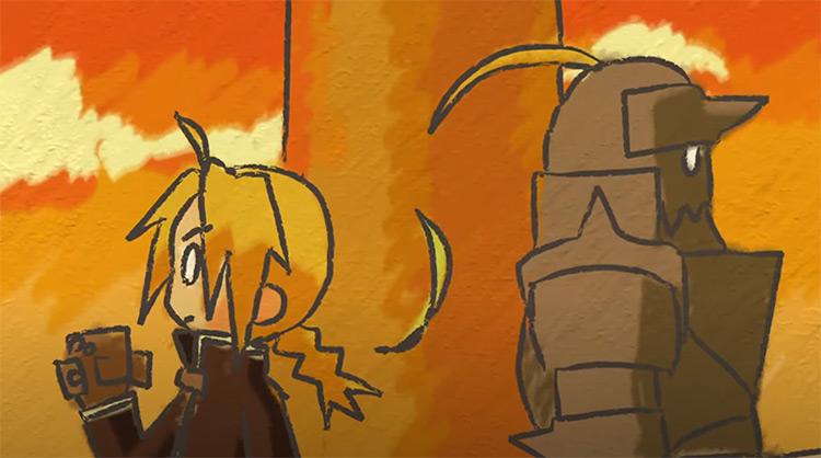 Fullmetal Alchemist: Brotherhood - Anime ending