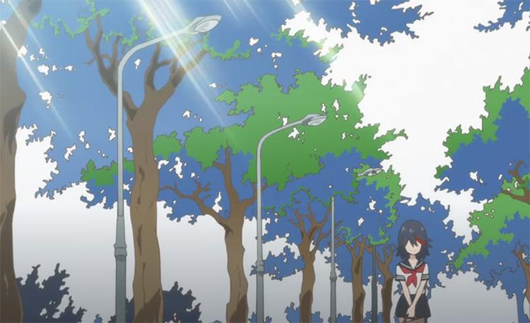 Kill la Kill - Anime ending credits