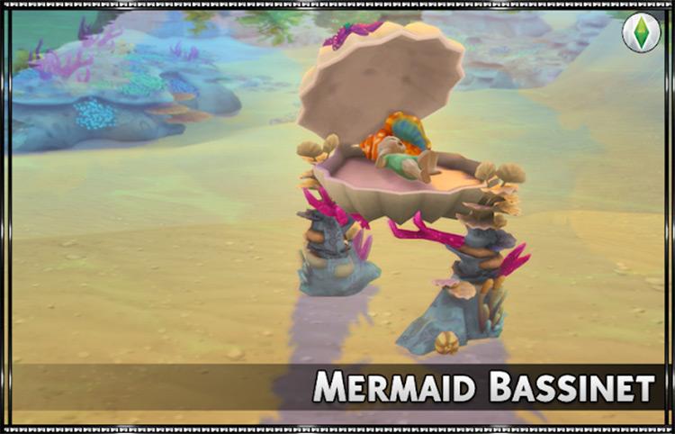 Mermaid Bassinet Mod TS4