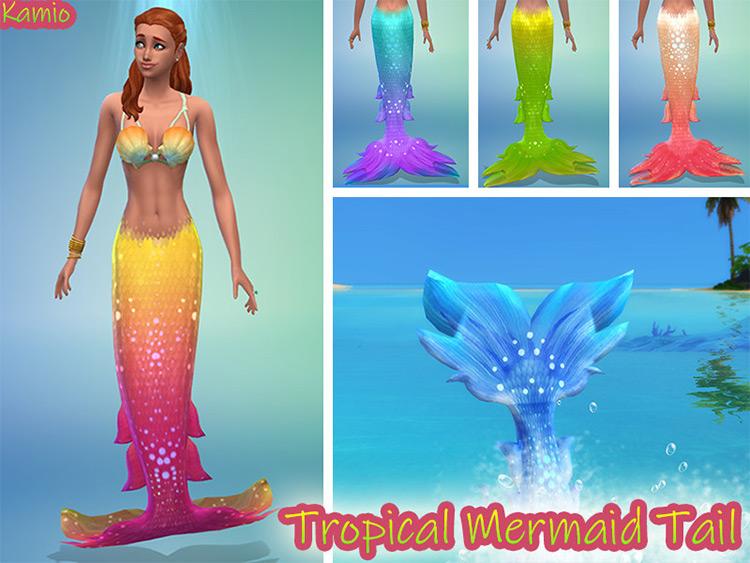 Mermaid Tail TS4 CC