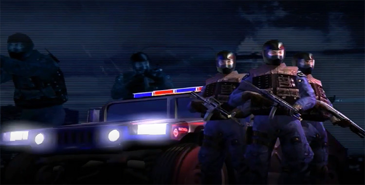 BlueLight project, SWAT 3 mod preview