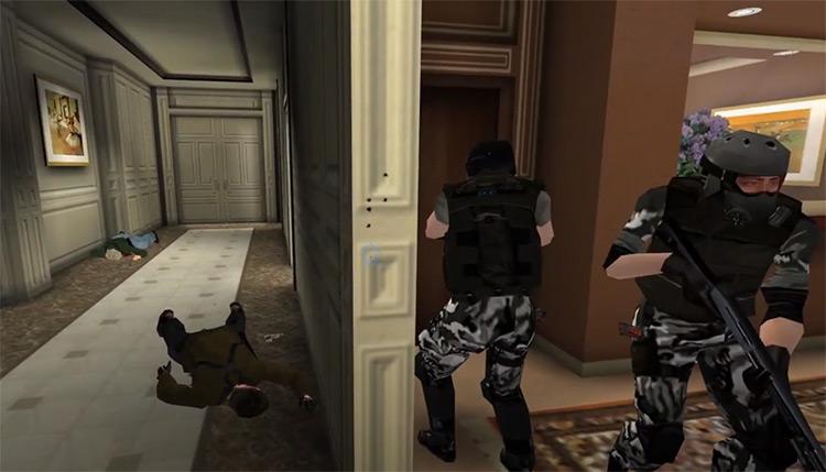 Blood Soaked PC mod - SWAT 3