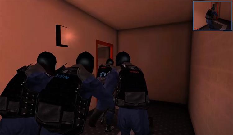 Officer Movement SWAT 3 mod