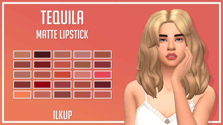 Tequila Matte custom lipstick CC