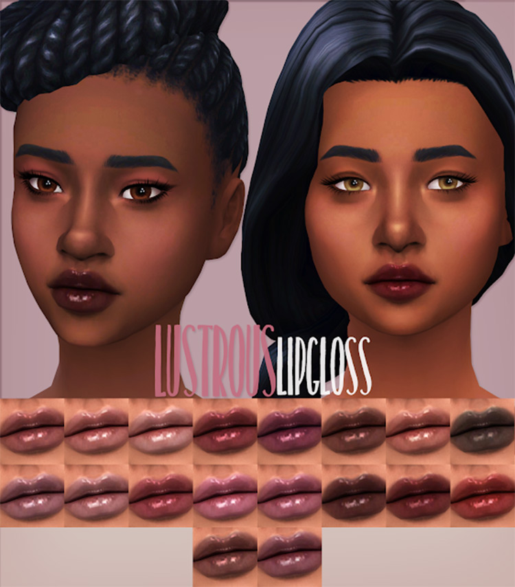 Lustrous Lipgloss TS4 CC