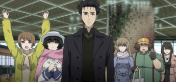 SteinsGate character crew group screenshot