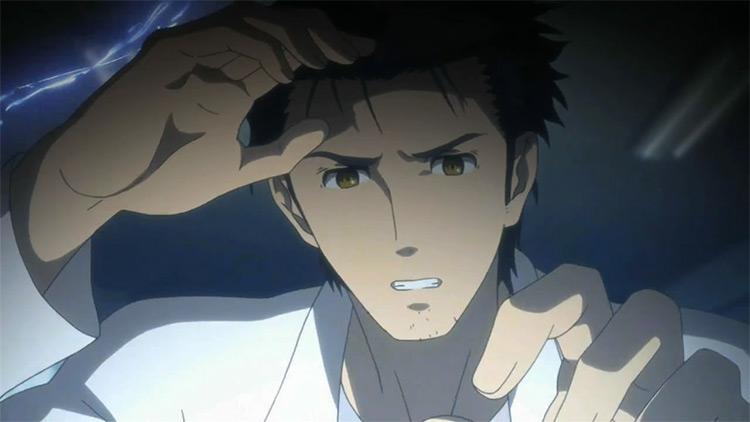 Rintarou Okabe Steins;Gate screenshot