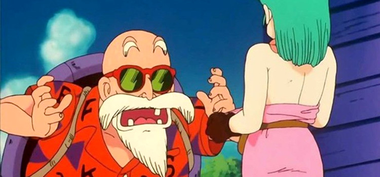 Master Roshi - Dragon Ball white beard screenshot