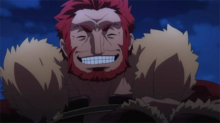 Iskandar Fate/Zero anime screenshot