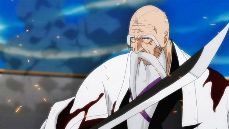 Genryuusai Shigekuni Yamamoto Bleach anime