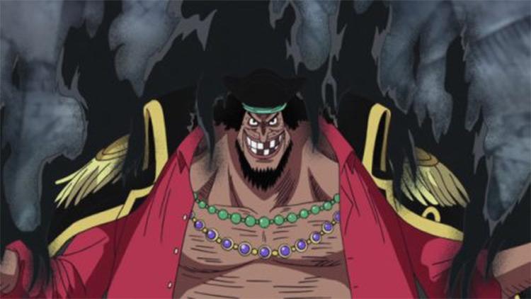 Marshal D. Teach from One Piece anime