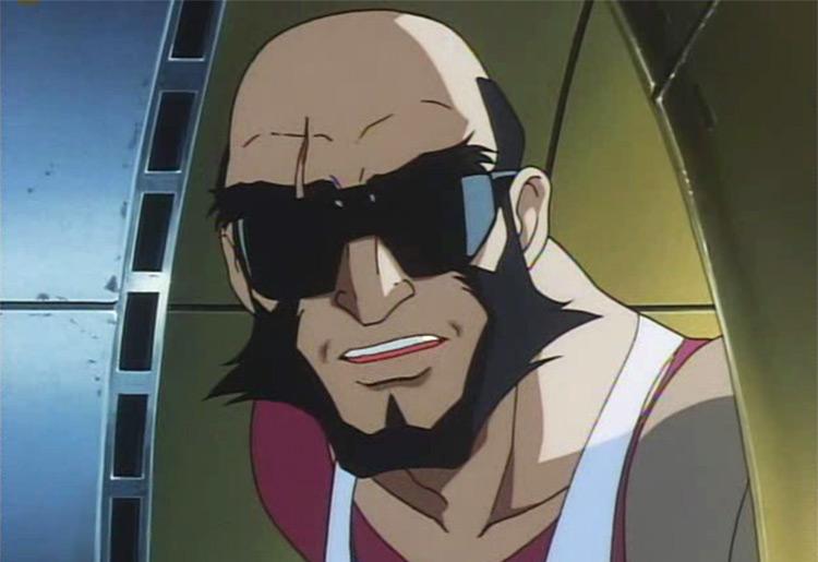 Jet Black in Cowboy Bebop anime