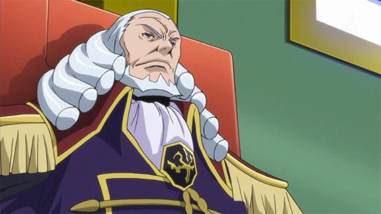 Charles Brittania in Code Geass anime