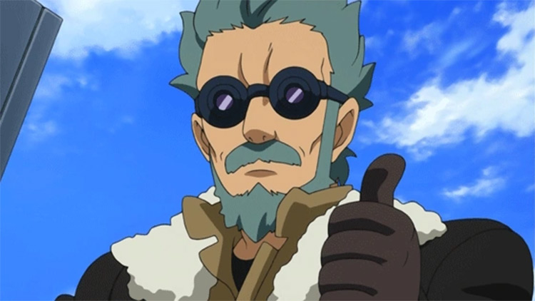 Flit Asuno in Gundam Age series