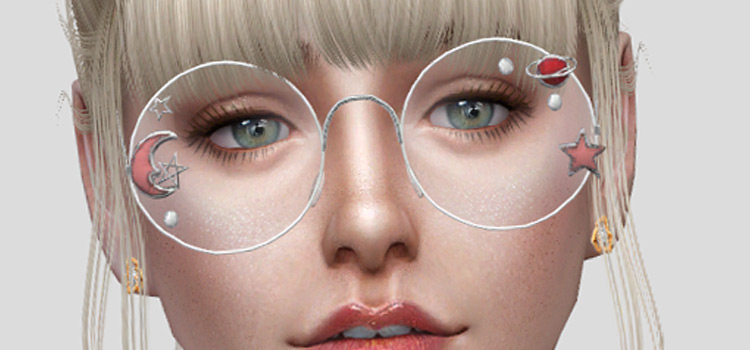 Featured - WMGLasses CC, rounded lenses TS4