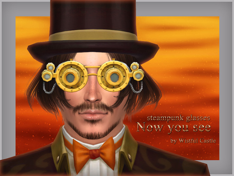 Steampunk Glasses mod for The Sims 4