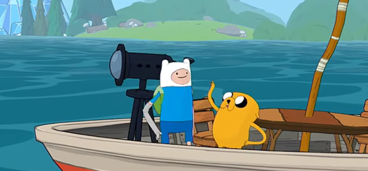 Finn & Jake video game - Adventure Time: Pirates of the Enchiridion