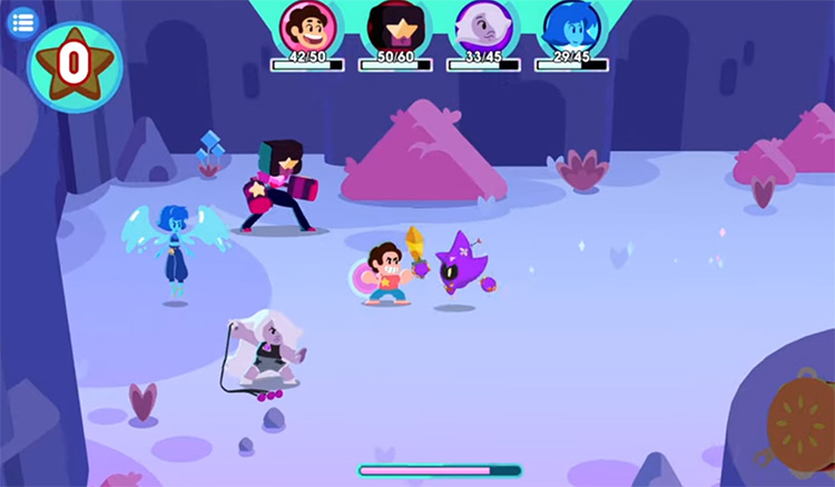 Steven Universe: Unleash the Light gameplay screenshot