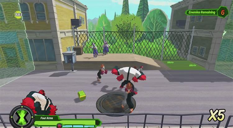Ben 10 2017 video game screenshot