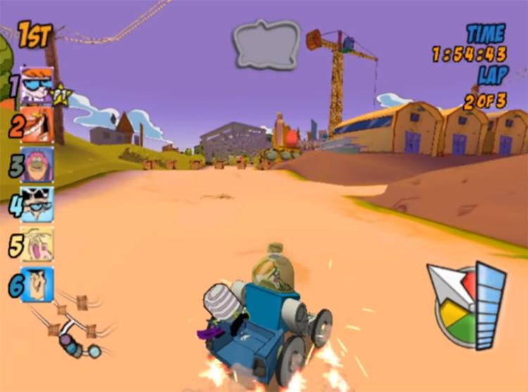 Cartoon Network Racing 2006 gameplay
