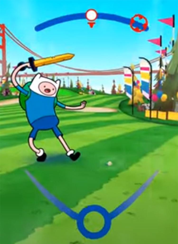 Cartoon Network Golf Stars - game screenshot