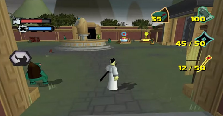 Samurai Jack: The Shadow of Aku - Game Screenshot