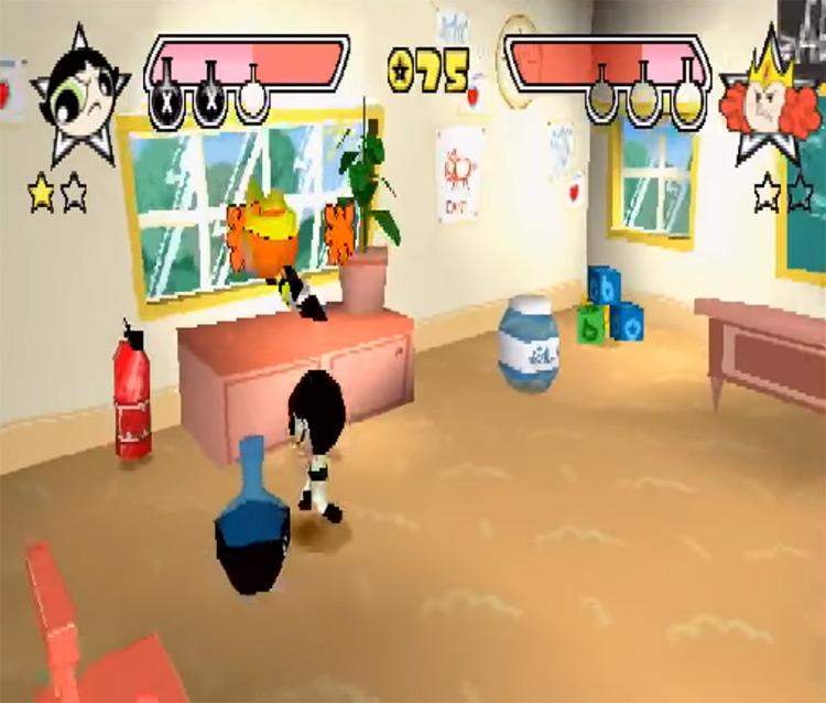 Powerpuff Girls Chemical X-Traction screenshot