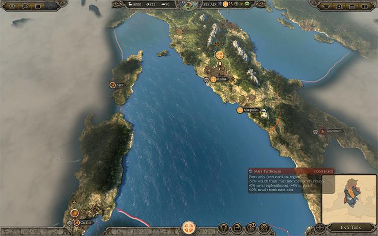 Warring States: Roman Civil War mod