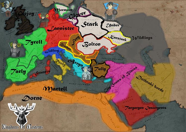 Kingdoms Of Westeros - TW Attila