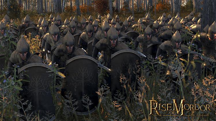 Total War: Rise of Mordor mod