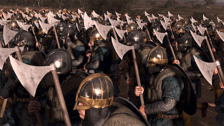 Bright Weapon Textures Total War Attila mod