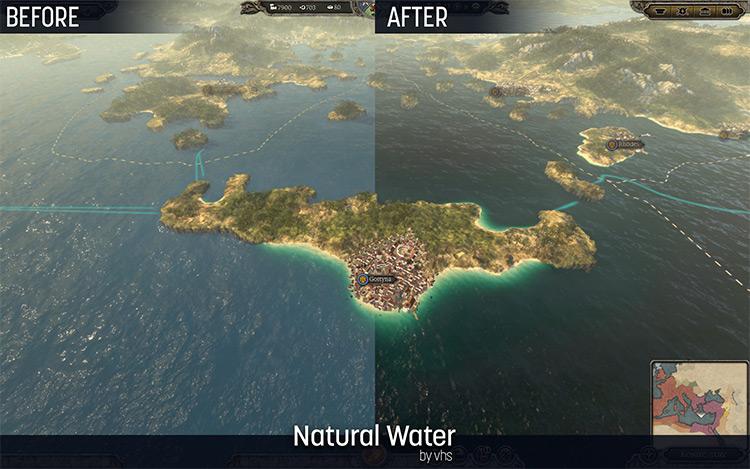Natural Water Mod TW Attila