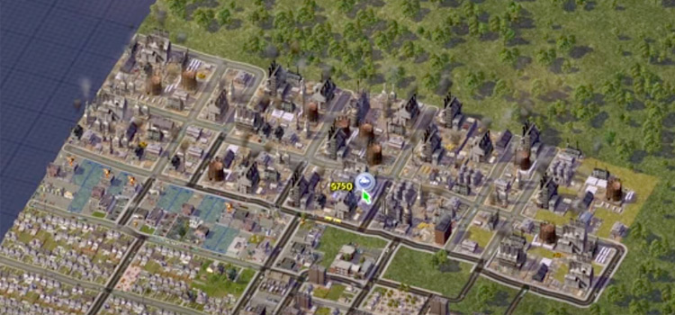 SimCity4 HD screenshot of city building