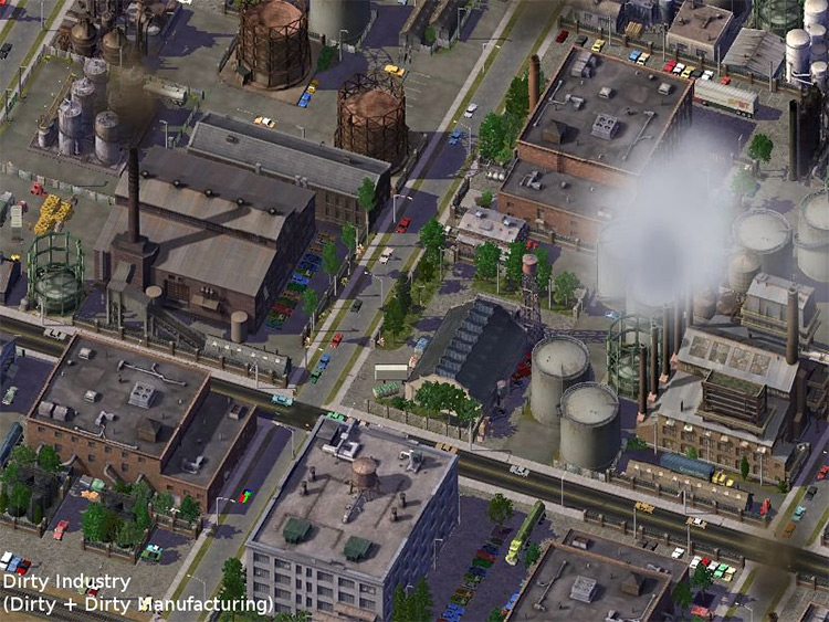Industrial Revolution Mod for SimCity4