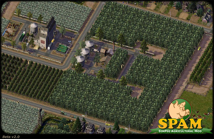 SimPeg Agricultural Mod - SimCity4