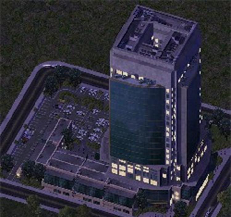 Police Headquarters SC4 mod