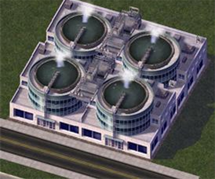 Reverse Osmosis Water Treatment Plant Simcity4