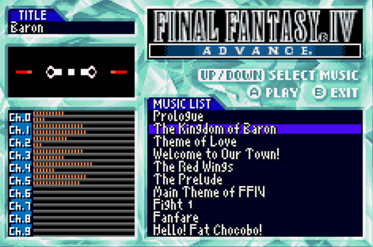 FF4 advance rom hack