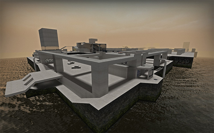 Tanks Playground in L4D2 mod