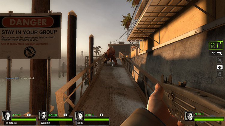 Admin System in L4D2 modded