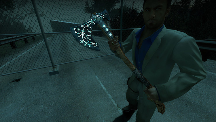 God of War Leviathan Axe in L4D2