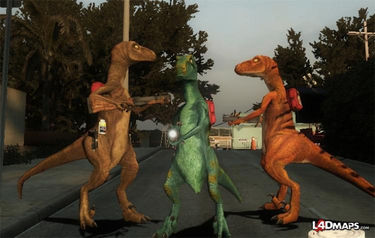 Velociraptors L4D2 modded
