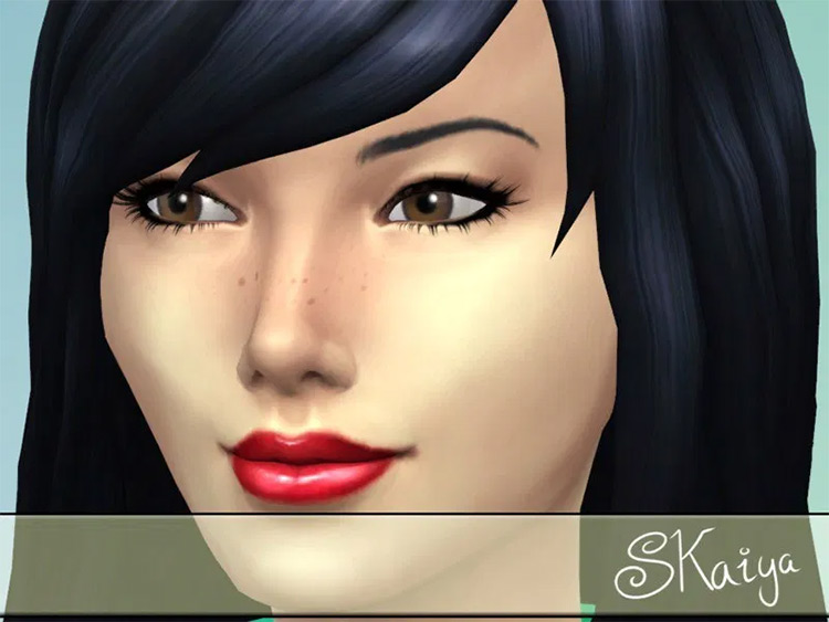Sweet Freckles The Sims 4 mod