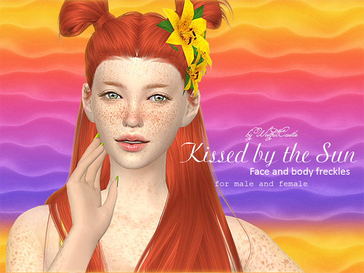 Kissed by the Sun Sims 4 mod