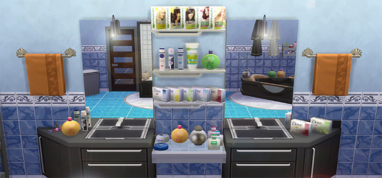 Best Sims 4 Bathroom CC: Everything You Need From Toilets To Bathmats