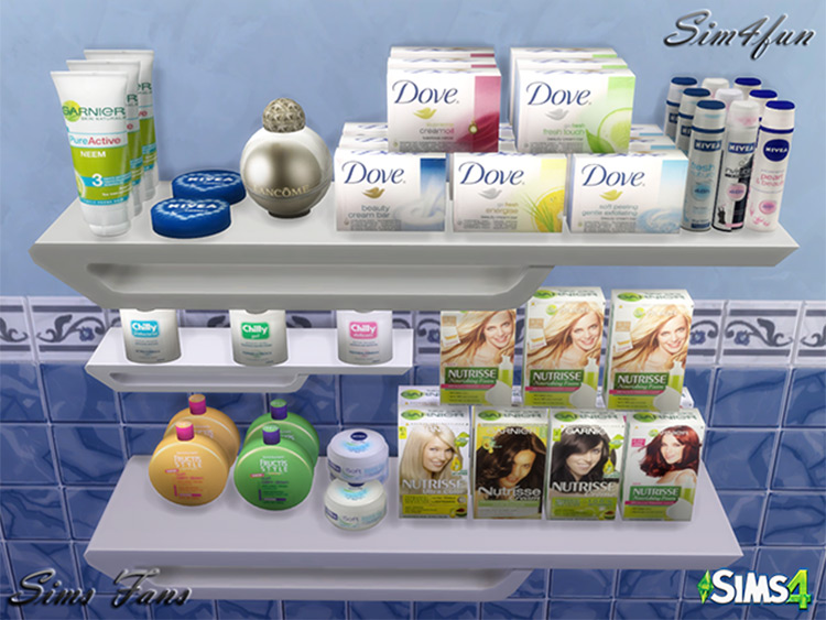 Bath & Beauty Products CC Sims 4