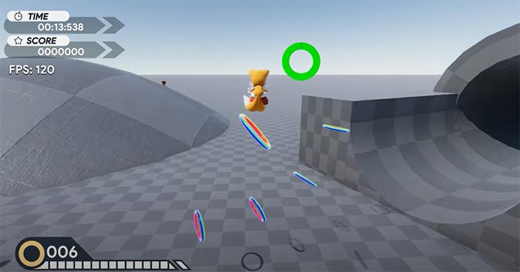 Sonic Project Hero ROM hack