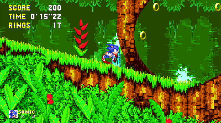 Sonic 3 Angel Island Revisited ROM hack