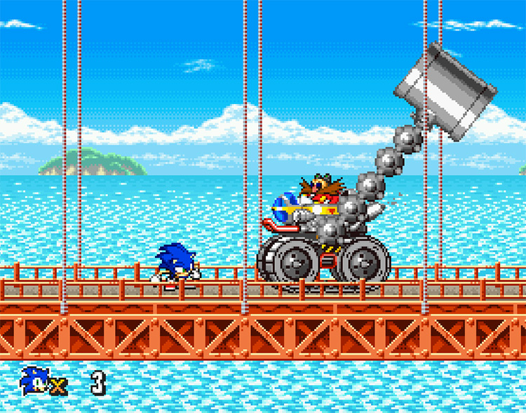 Sonic Advance Revamped ROM hack