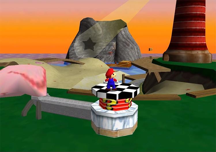 Super Mario 64: Last Impact ROM hack screenshot